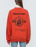 Andersson Bell Unisex Ring Club Oversized Sweatshirt Picture