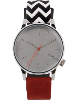 KOMONO Galore Zigzag Suede Winston Watch Picture