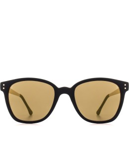 KOMONO Black/Gold Metal Series Renee Sunglasses Picture
