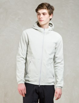 REIGNING CHAMP White Alpha Insulated Jacket Picture