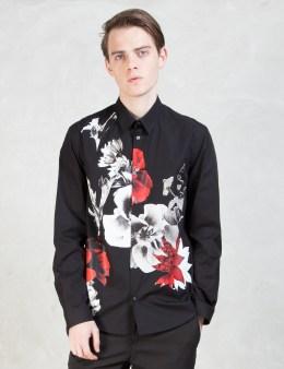 McQ Alexander McQueen Floral Print L/S Shirt Picture