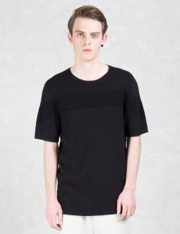HELMUT LANG Striped Jacquard S/S T-Shirt Picture