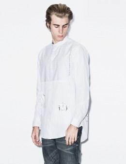 clothsurgeon White Stripe With Clock Shirt Picture