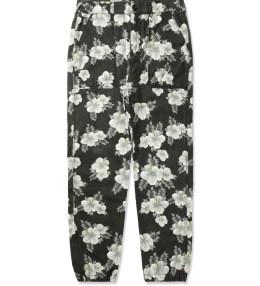 10.DEEP Black Hibisc Siler Pants Picture