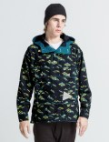 and wander Navy AW51-FT020 Jacket Picutre