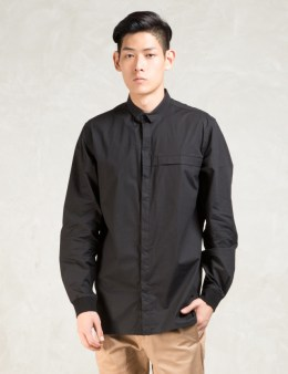 STAMPD Black L/S Matic Button Down Shirt Picture