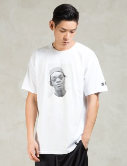 HUF White Harold Hunter Foundation X Huf T-shirt Picture