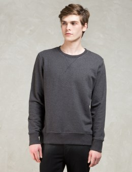 Nudie Jeans Black L/S Sven Sweatshirt Picture