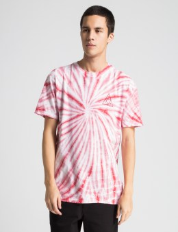 HUF Red Washed Out Triple Triangle T-Shirt Picture