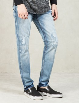 Staple Blue Light Stone Wash Security Denim Picture