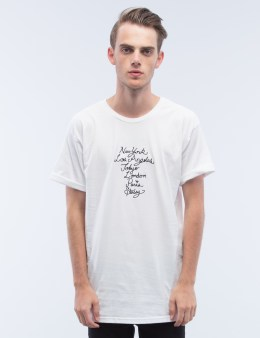 Stussy Cursive Wt Embroidery T-Shirt Picture