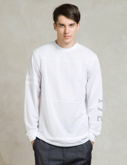 i love ugly. White L/S Football Jersey Picture