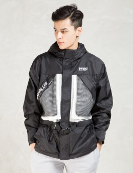 VFILES SPORT PLUS Black Layered Sailing Parka Picture
