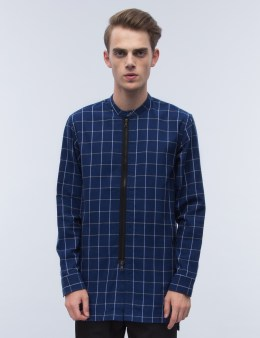 Fairplay Wesley Zip Front Check Shirt Picture