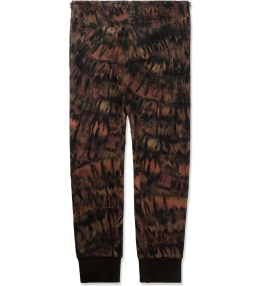 Paul Smith Tie-dye Print Wool-Blend Cuffed Trousers Picture