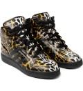 adidas Originals adidas Originals x Jeremy Scott Instinct Hi Leopard Shoe