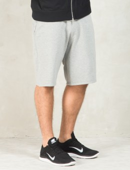 REIGNING CHAMP Grey Core Sweatshorts Picture