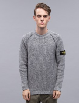STONE ISLAND Reversible Double Face Rib Sweater Picture
