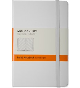MOLESKINE White Ruled Pocket Size Notebook Picture