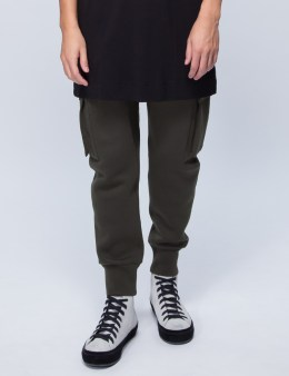 HELMUT LANG Curved Leg Cargo Track Pants Picture