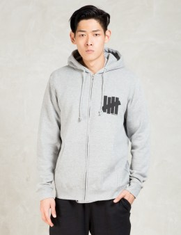 UNDEFEATED Grey Strike Undefeated Zip Hoodie Picture