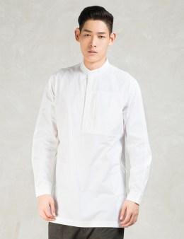 maharishi White Helmand Kurta Shirt Picture