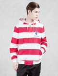 JOYRICH Usa Striped Playboy Hooded Jacket Picture