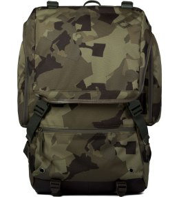 BLCbrand Newsboy Camo Resistance Backpack Picture