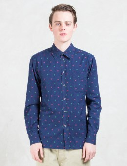 MAISON KITSUNE Cut Flowers Classic Shirt Picture