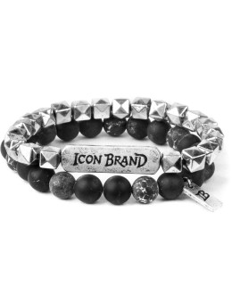 Icon Brand Made Ball Bracelets Set Picture