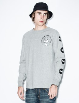 LAZY OAF Grey Lucky Smokes L/S T-Shirt Picture