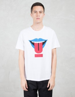 "UNDERCOVER ""Tongue"" Graphic S/S T-Shirt Picture"