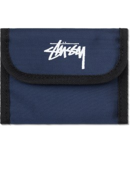 Stussy Double Fold Nylon Wallet Picture
