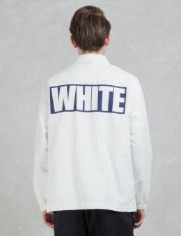 "White Mountaineering ""White"" Coach Jacket Picture"
