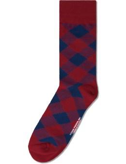 Richer Poorer Red Breadwinner Socks Picture