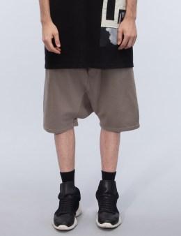 Rick Owens DRKSHDW Pantaloni In Felra Pod Shorts Picture