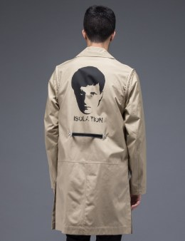 "UNDERCOVER ""Isolation Face"" Graphic Coat Picture"