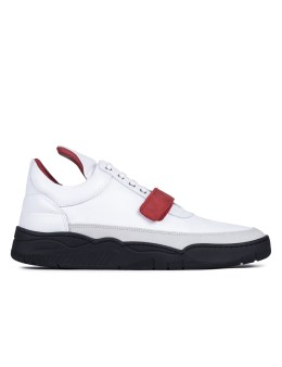 Filling Pieces Low Top Red Strap Sneakers Picture