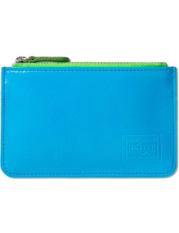 Head Porter Neon Blue Coin Case Picture