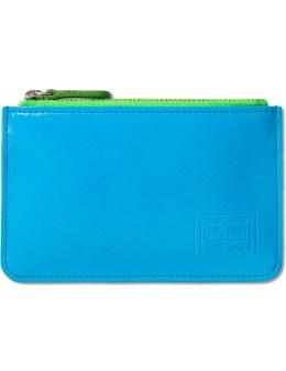 Head Porter Neon Blue Coin Case Picture