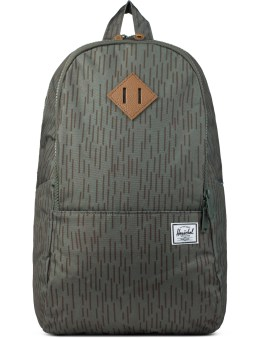 Herschel Supply Co. Rain Drop Leather Nelson Backpack Picture