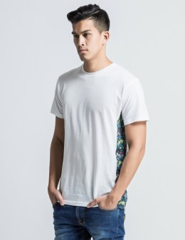 The Quiet Life White Liberty Strawberry Side Panel T-Shirt Picture