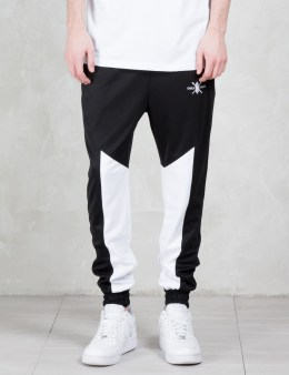 Daily Paper Black Mesh Panel Track Pants Picture