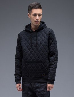 10.DEEP Black X-box Quilt Hoodie Picture