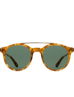Stussy Tortoise with Green lens Luca Sunglasses Picture