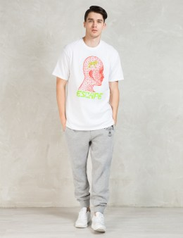 Stussy White Escape T-Shirt Picture