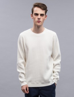 Norse Projects Vagn Compact Waffle Sweatshirt Picture