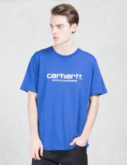 Carhartt WORK IN PROGRESS WIP Script S/S T-shirt Picture