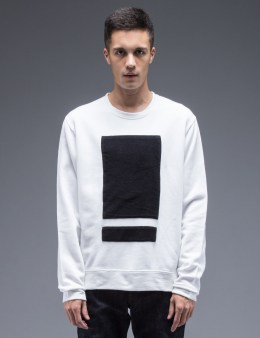 Tourne de Transmission White Splitbox Sweat Picture