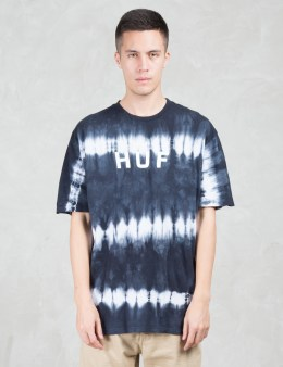 HUF Original Logo Tie Dye S/S T-Shirt Picture